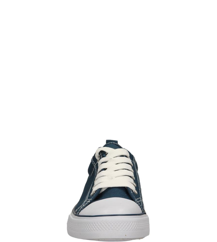 Dziecięce TRAMPKI AMERICAN LH-14-DSLN01- niebieski;biały;