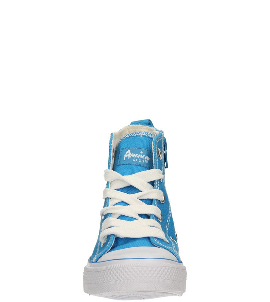 Dziecięce TRAMPKI AMERICAN LH-14-9120-2 niebieski;biały;