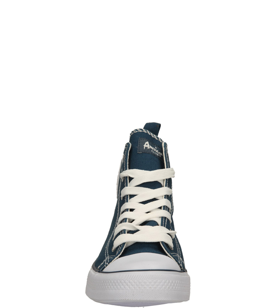Damskie TRAMPKI AMERICAN LH-14-9120-3 niebieski;biały;