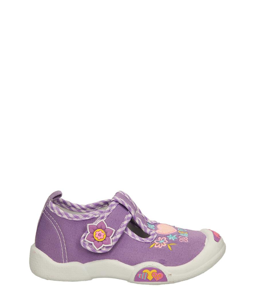 Dziecięce TRAMPKI AMERICAN L1698 fioletowy;;
