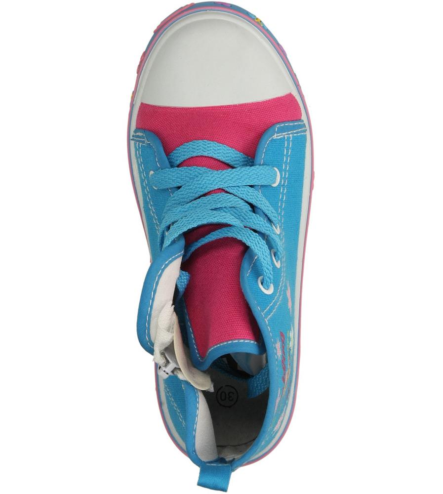Dziecięce TRAMPKI AMERICAN 3AL020 niebieski;;