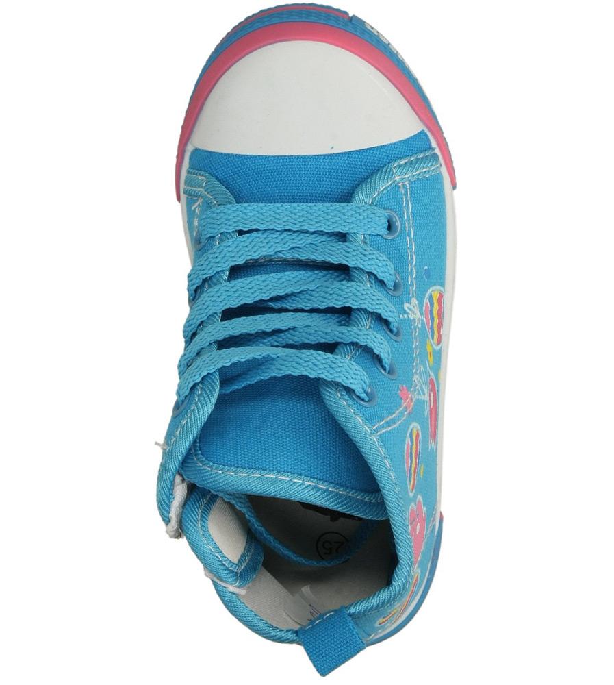Dziecięce TRAMPKI AMERICAN TEN15/2014 niebieski;;