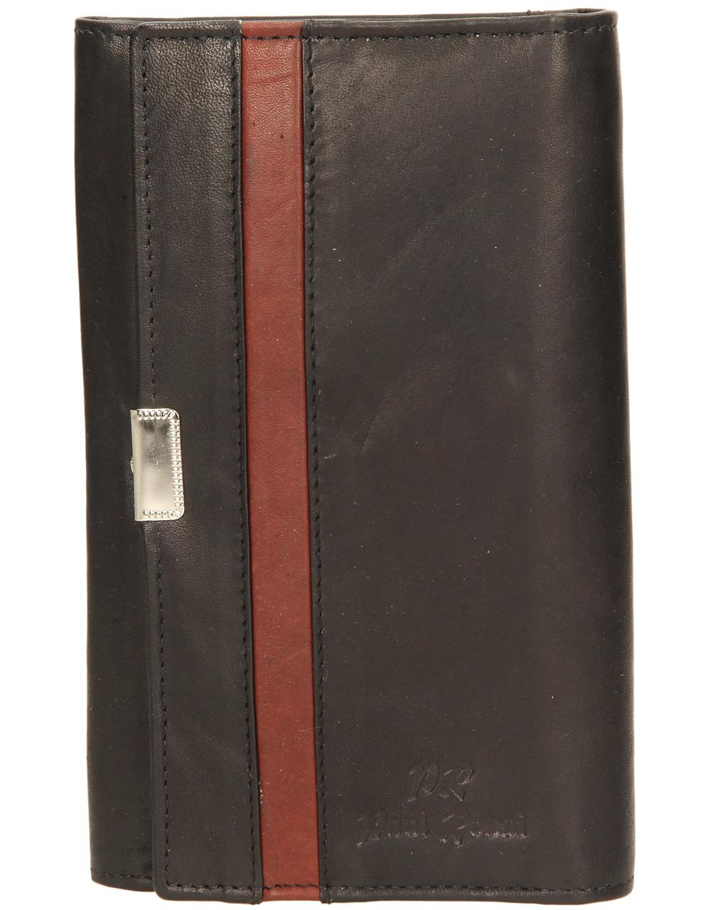 Damskie PORTFEL N214-MT czarny;brązowy;