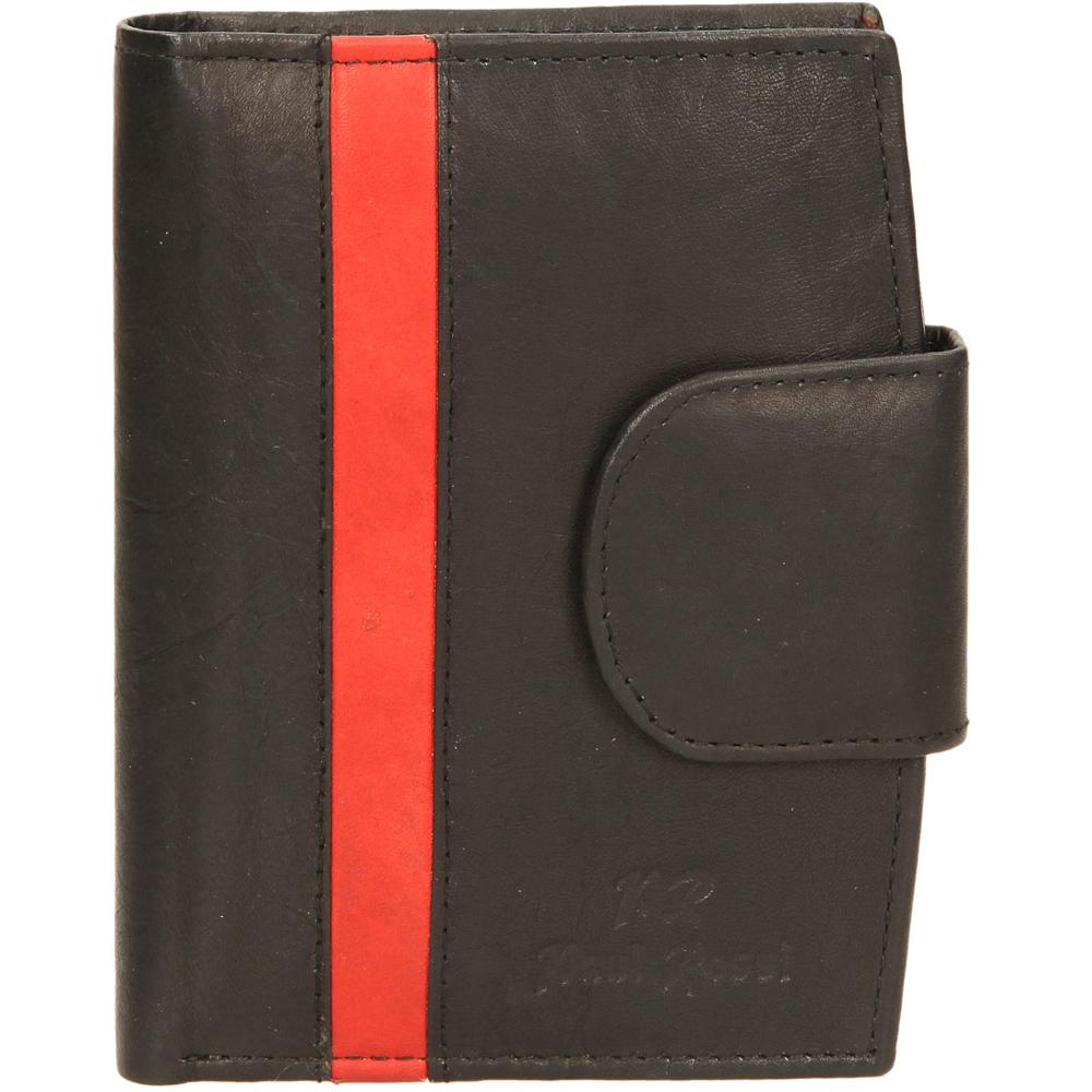 Damskie PORTFEL N26-MT czarny;czerwony;