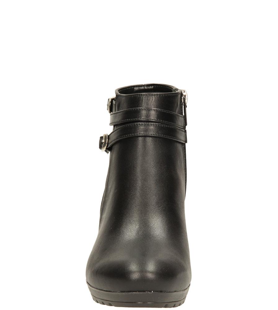 Damskie BOTKI CASU B71 czarny;;