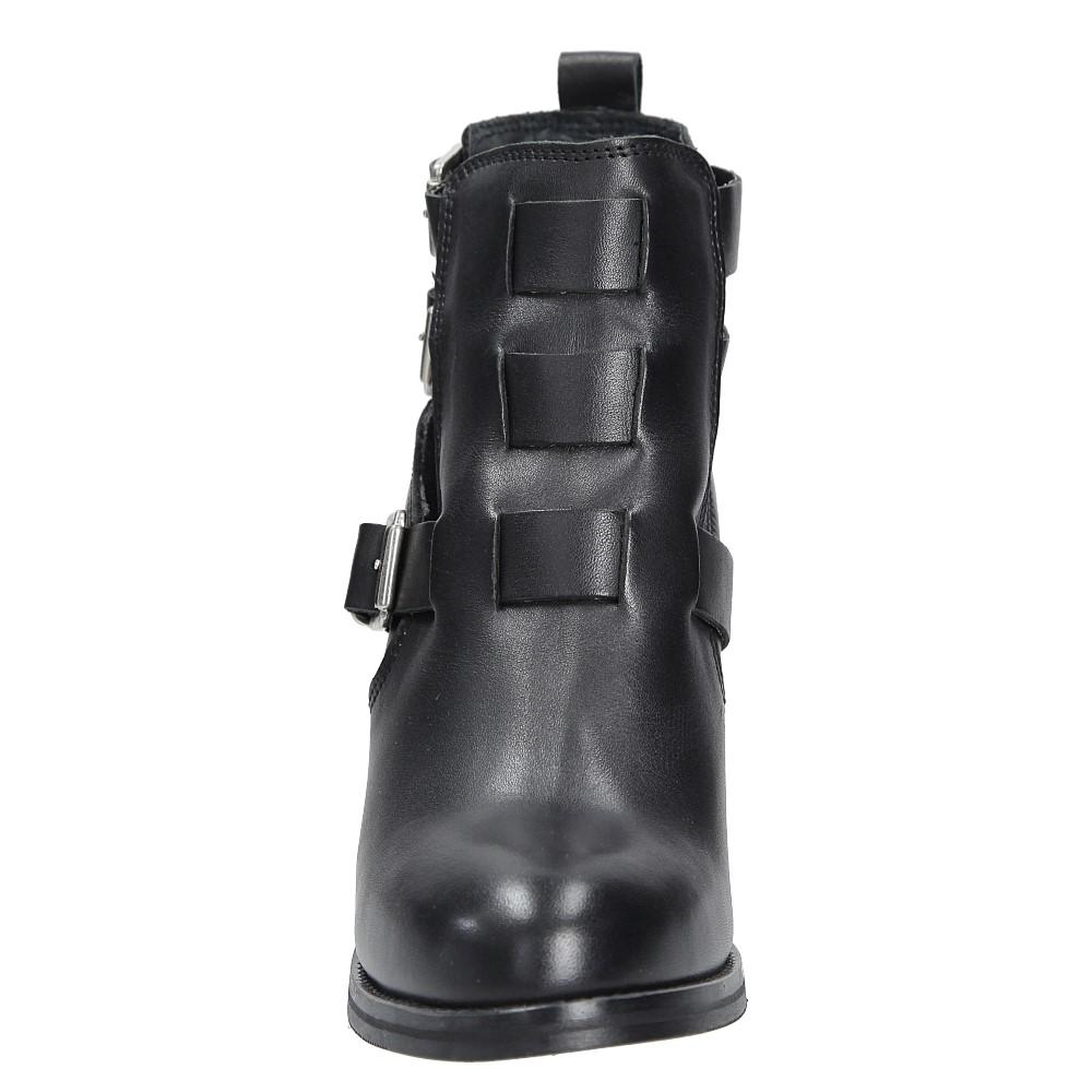 Damskie BOTKI BRONX 33620-G-01 czarny;;