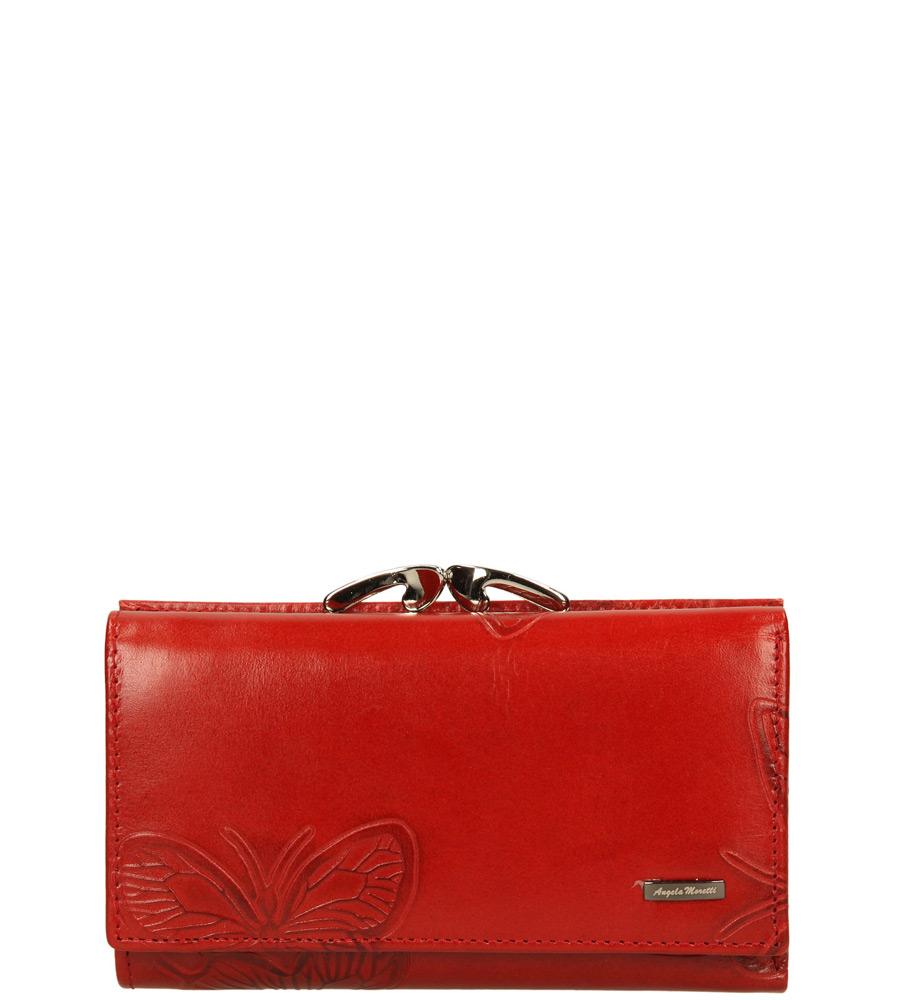 Damskie PORTFEL 55020-07003 czerwony;;