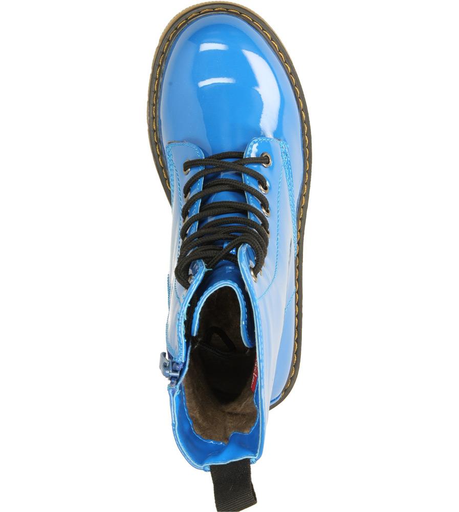 Damskie TRZEWIKI SERGIO LEONE 5481 niebieski;;