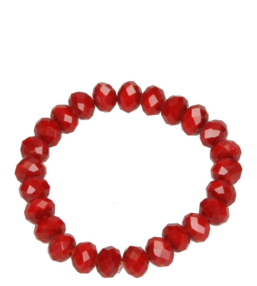 Damskie BRANSOLETA R1S49 czerwony;;