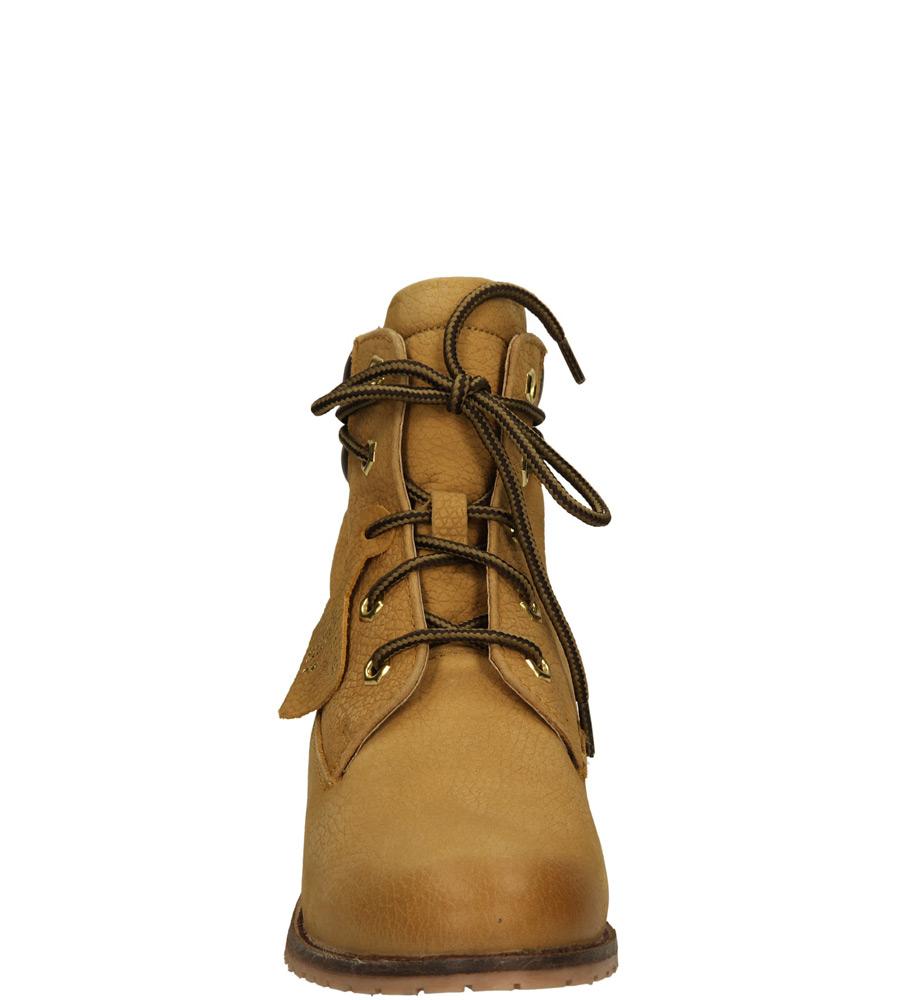 Damskie BOTKI BRONX 44014-L brązowy;;