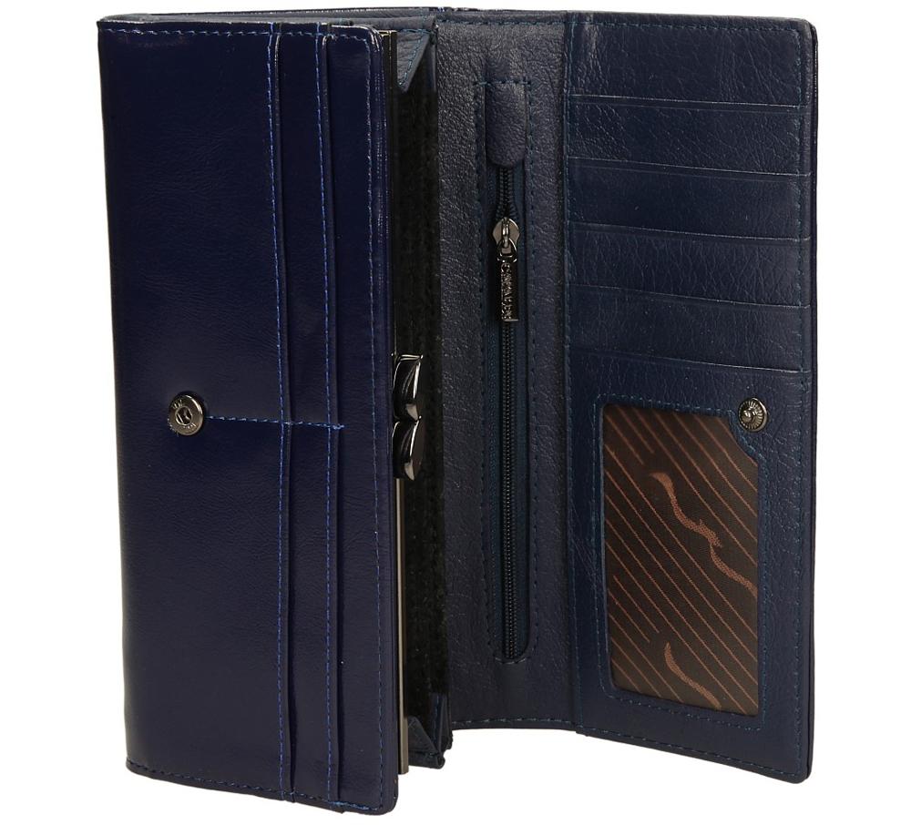Damskie PORTFEL N24-4-K-K330 niebieski;;