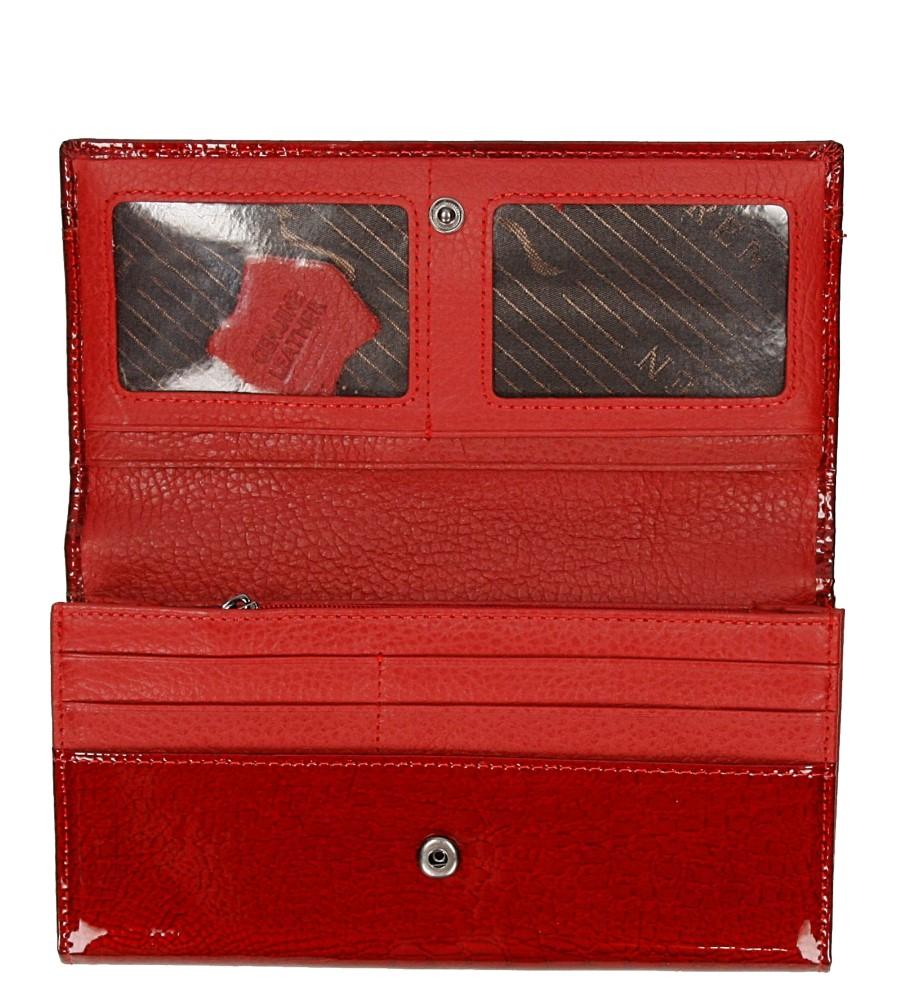 Damskie PORTFEL JP-510-C-1-RS czerwony;;