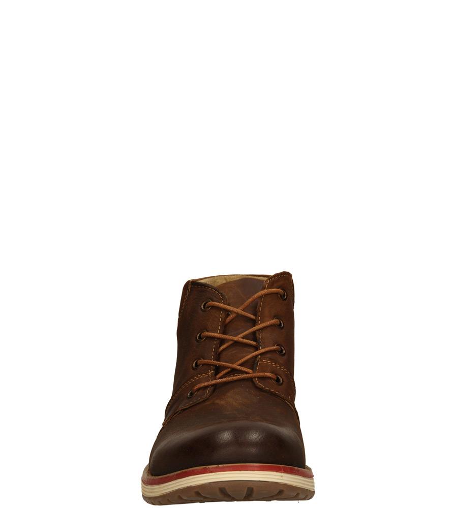 Męskie TRZEWIKI KONDOR SH3266-1 brązowy;;