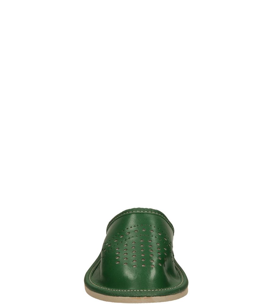 Damskie OBUWIE CASU DOMOWE D-36 zielony;;
