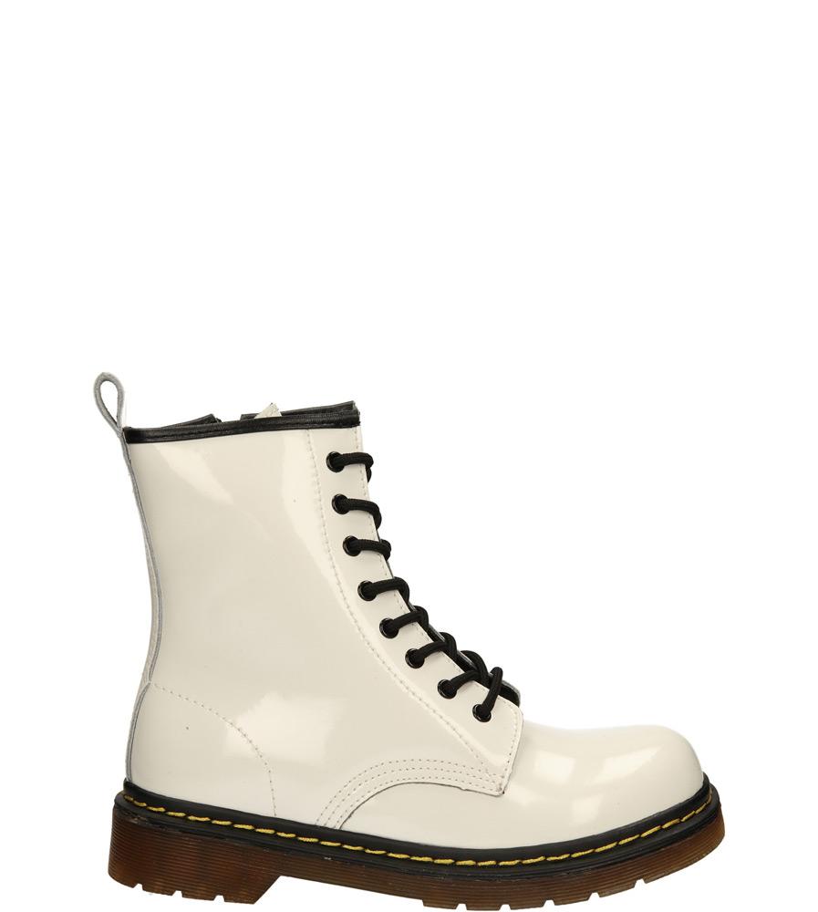 Damskie TRZEWIKI MCKEY R13-D-GL-03 biały;;