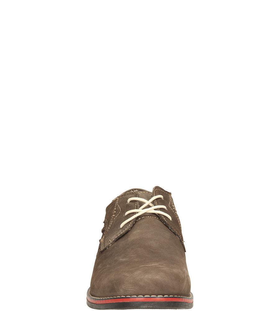 Męskie PÓŁBUTY MCKEY R14-M-P-411 brązowy;;