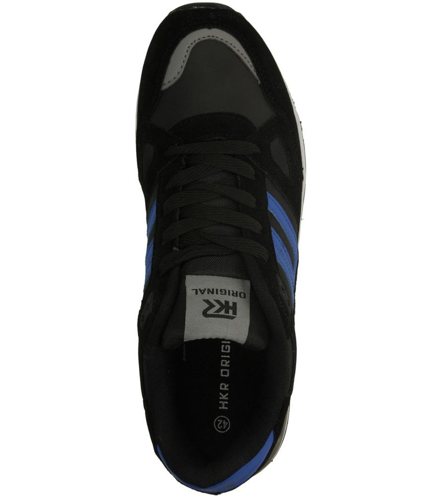 Damskie SPORTOWE CASU 7A-LA84491 czarny;niebieski;
