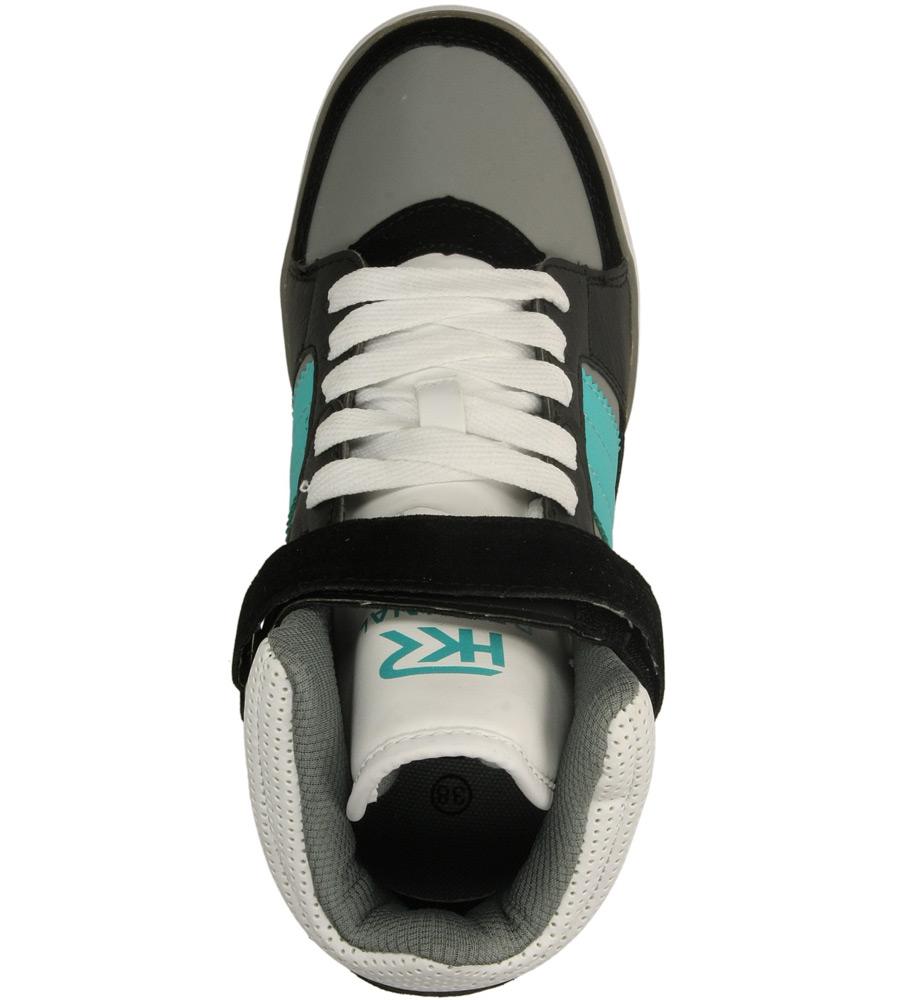 Damskie SNEAKERSY CASU 7A-LA84491 czarny;szary;biały