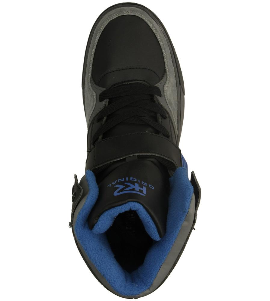 Męskie SPORTOWE CASU 9AAN84905 szary;czarny;niebieski