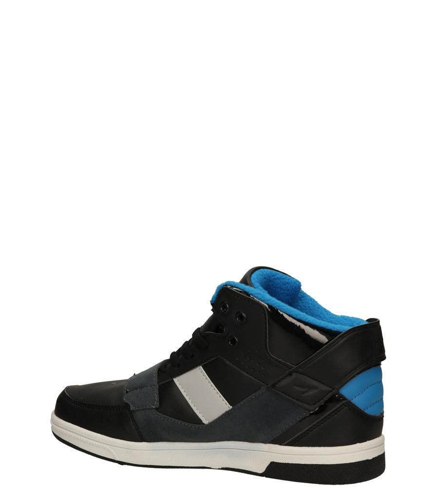 SPORTOWE CASU 9ACH-141230 kolor czarny, niebieski, szary
