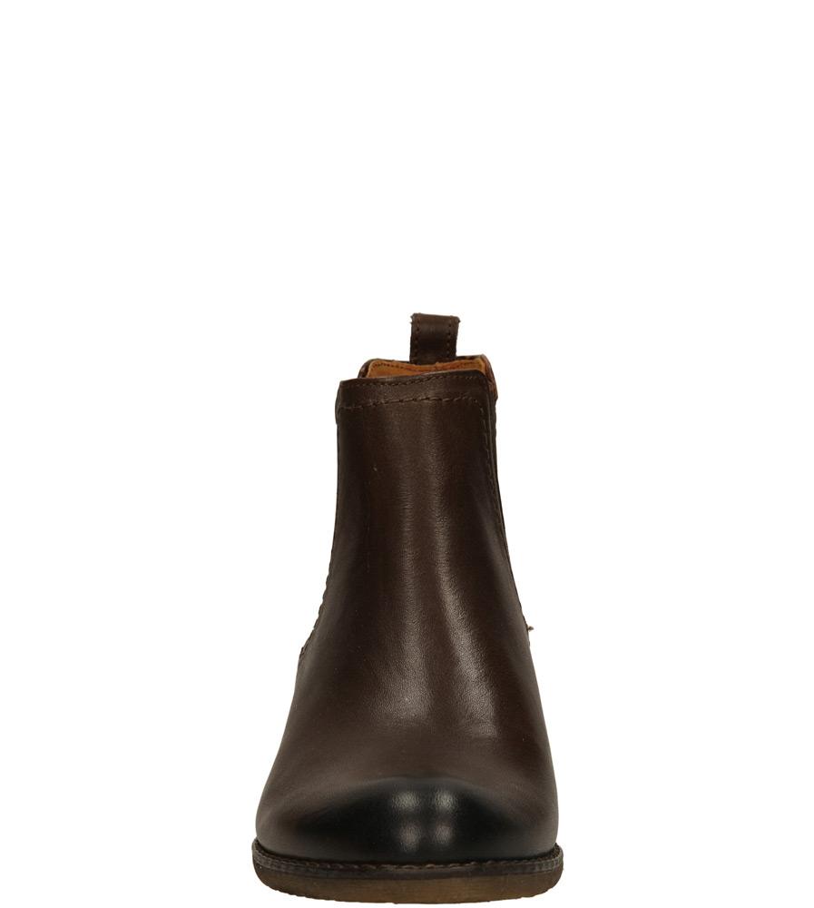Damskie SZTYBLETY NESSI 59404 brązowy;;