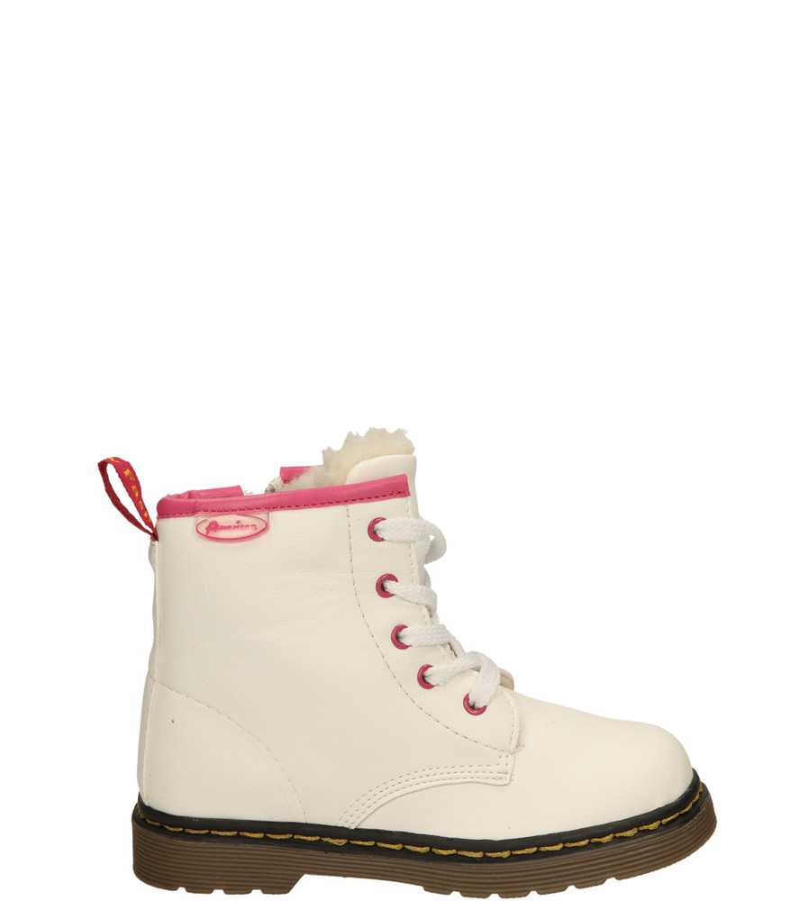Dziecięce TRZEWIKI AMERICAN G-C14072-A1 biały;;