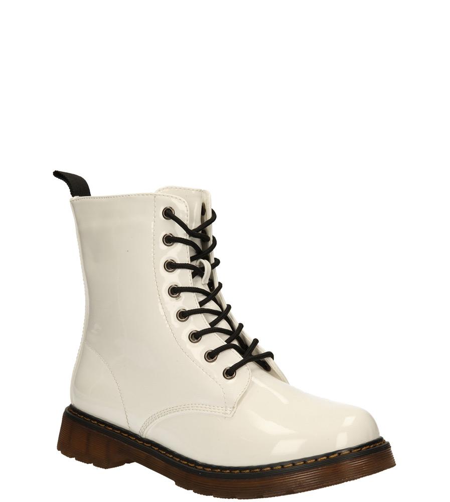 Damskie TRZEWIKI SERGIO LEONE 5481 biały;;