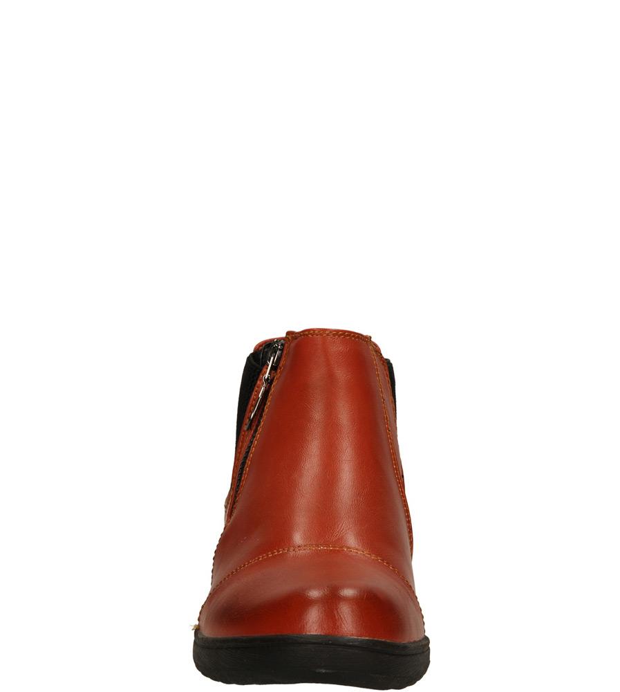 Damskie BOTKI SERGIO LEONE 2877 brązowy;;