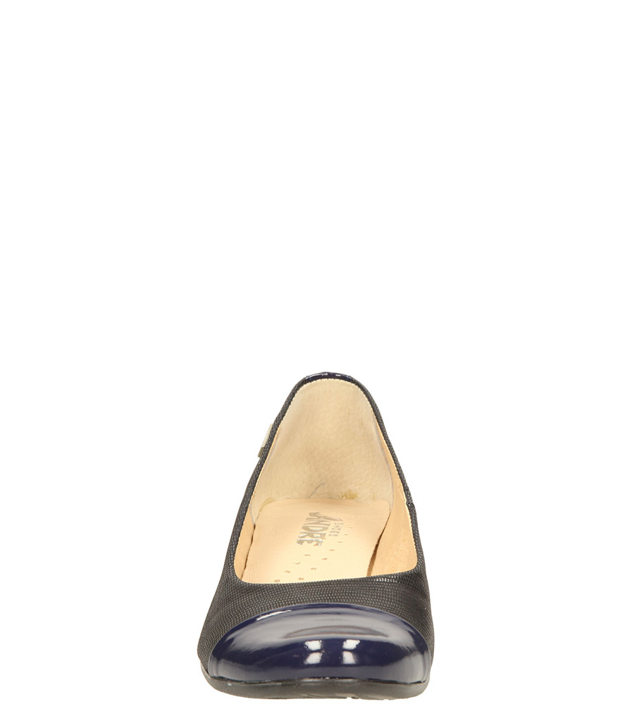 Damskie BALERINY ANDRE 667/LC/12C niebieski;;