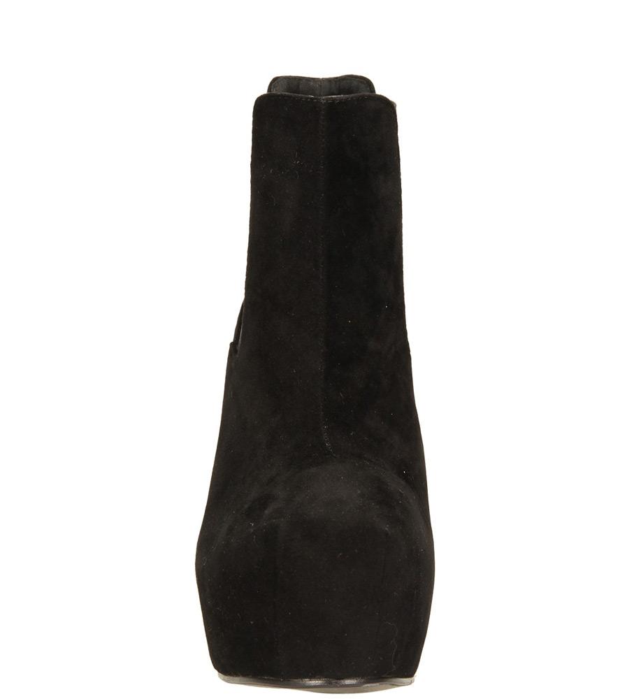 Damskie BOTKI CASU K823 czarny;;