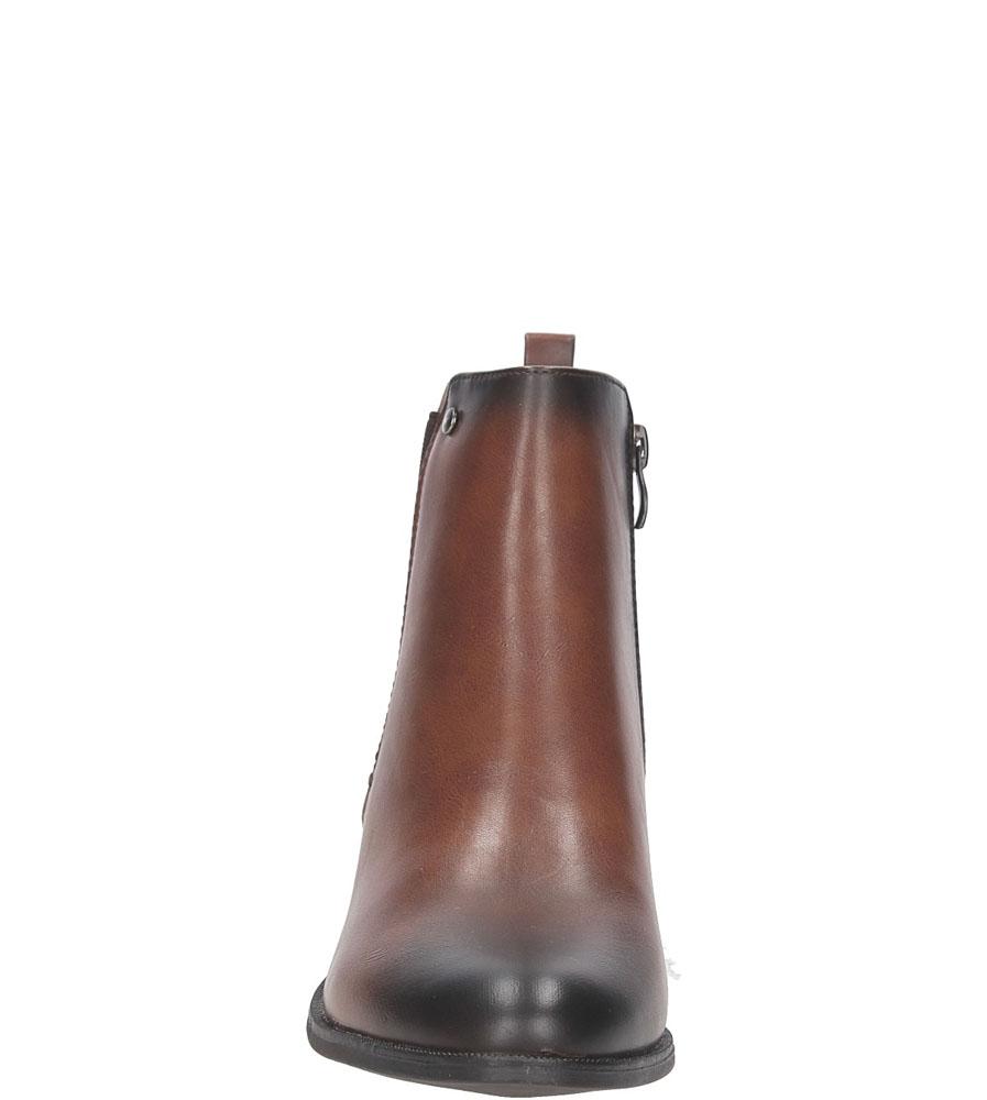 BOTKI JEZZI AM64-32 kolor brązowy