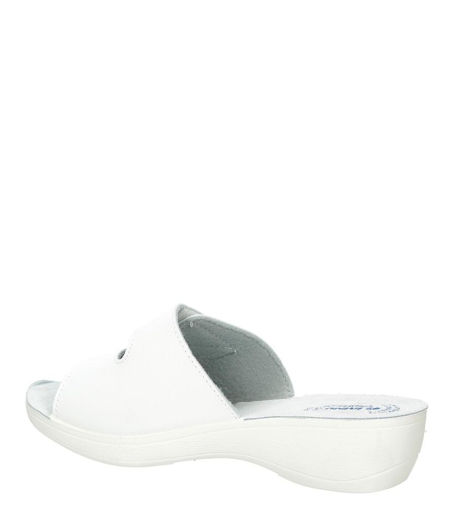 Klapki Inblu PL000028 kolor biały