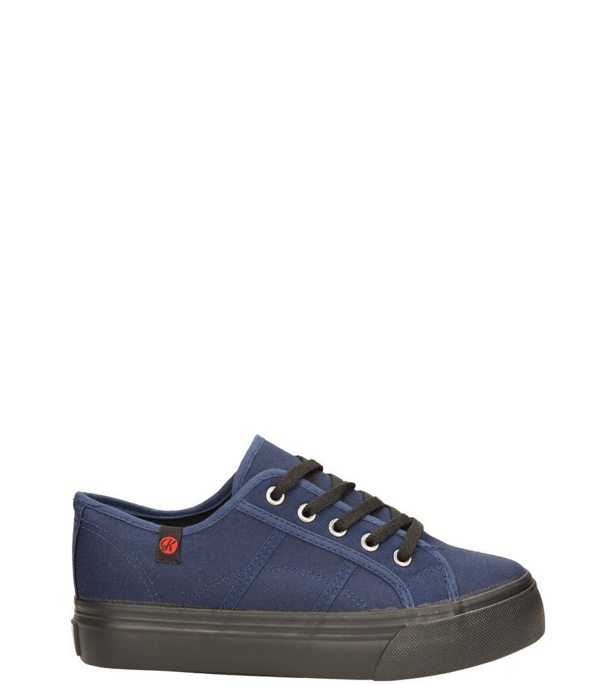 Damskie CREEPERSY CASU K1430 niebieski;;