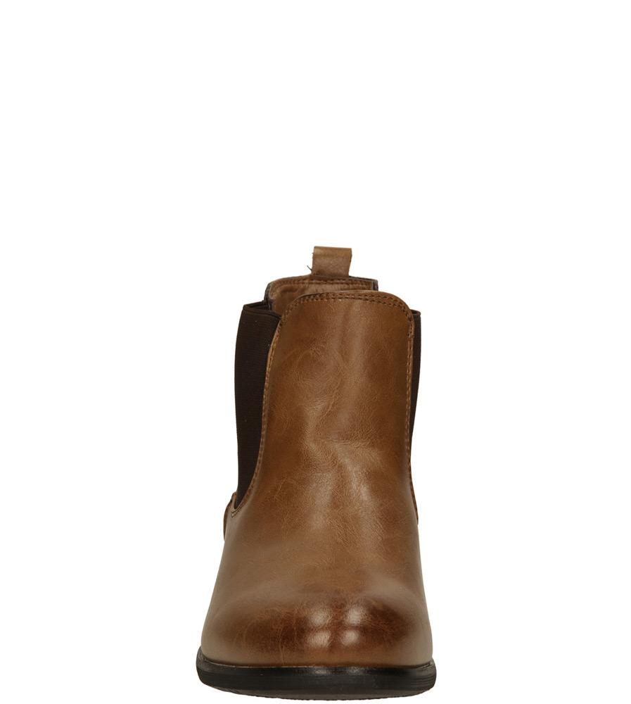 Damskie SZTYBLETY VINCEZA R14-D-BT-424 brązowy;;