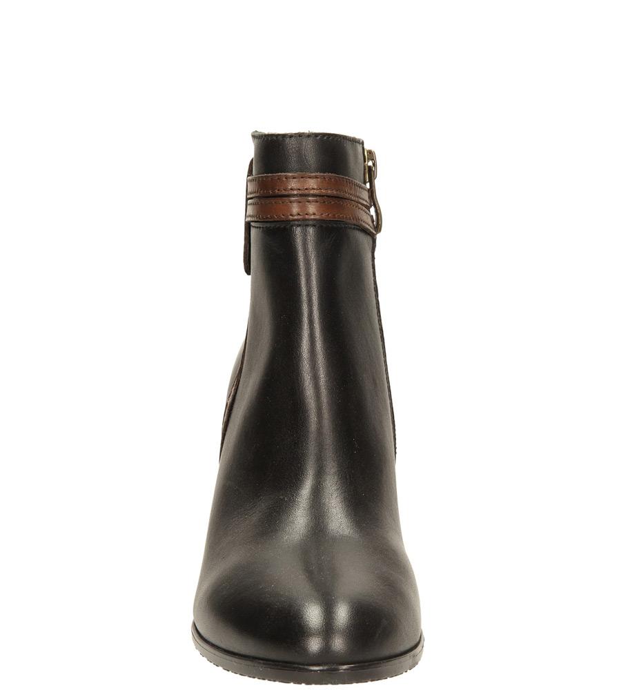 Damskie BOTKI CAPRICE 9-25347-33 czarny;brązowy;