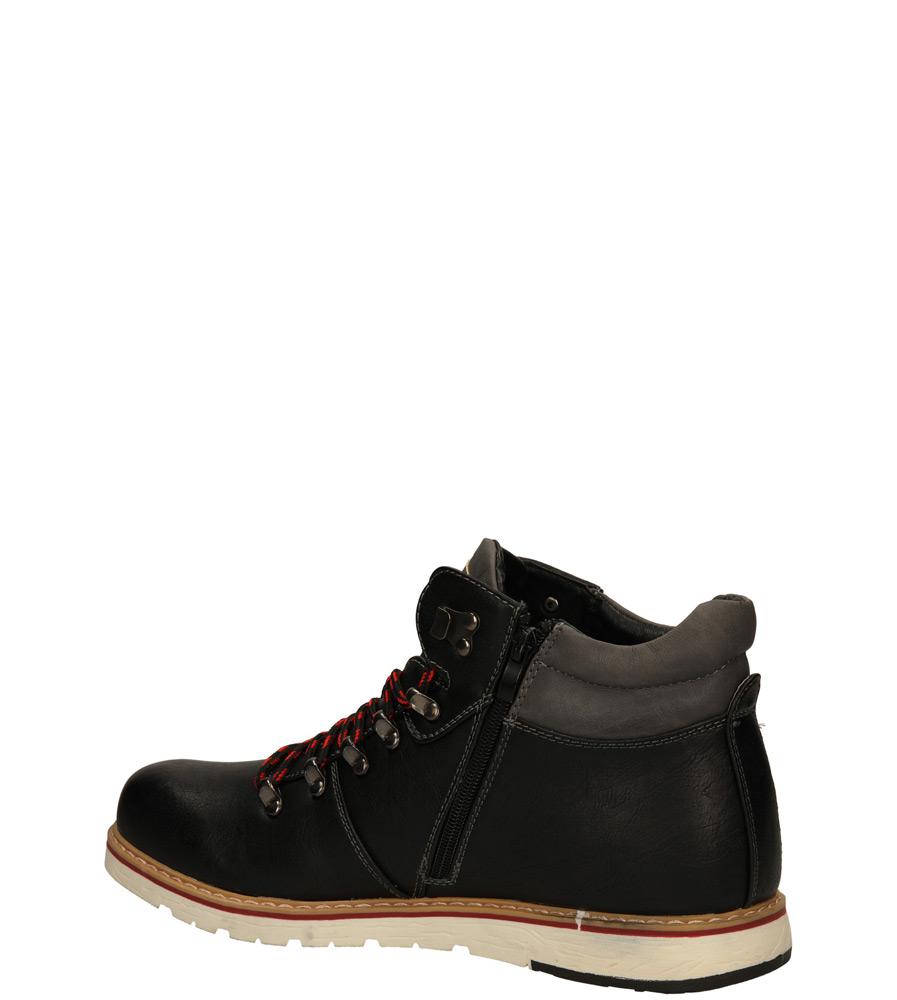 TRZEWIKI CASU MXC6713-W kolor czarny