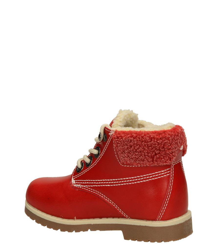 Dziecięce TRZEWIKI 1XC6687-W czerwony;;