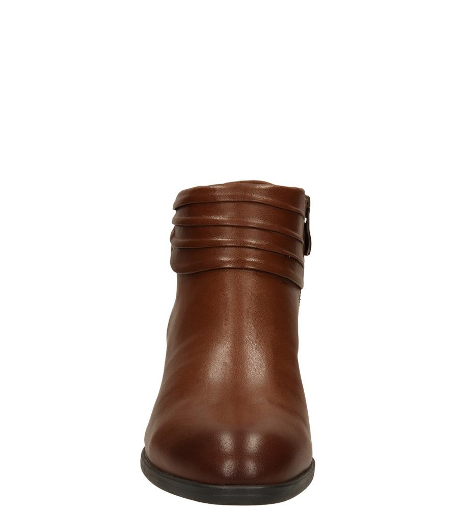 Damskie BOTKI CAPRICE 9-25394-33 brązowy;;