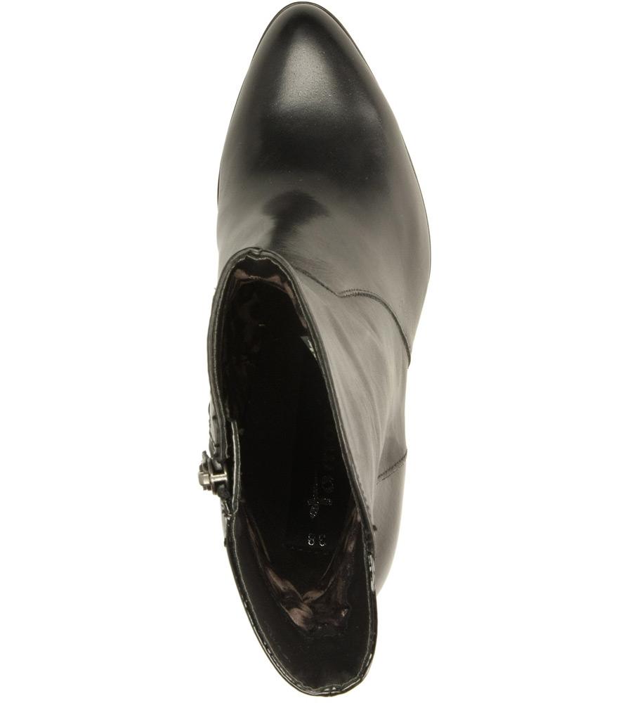 BOTKI TAMARIS 1-25094-33 kolor czarny