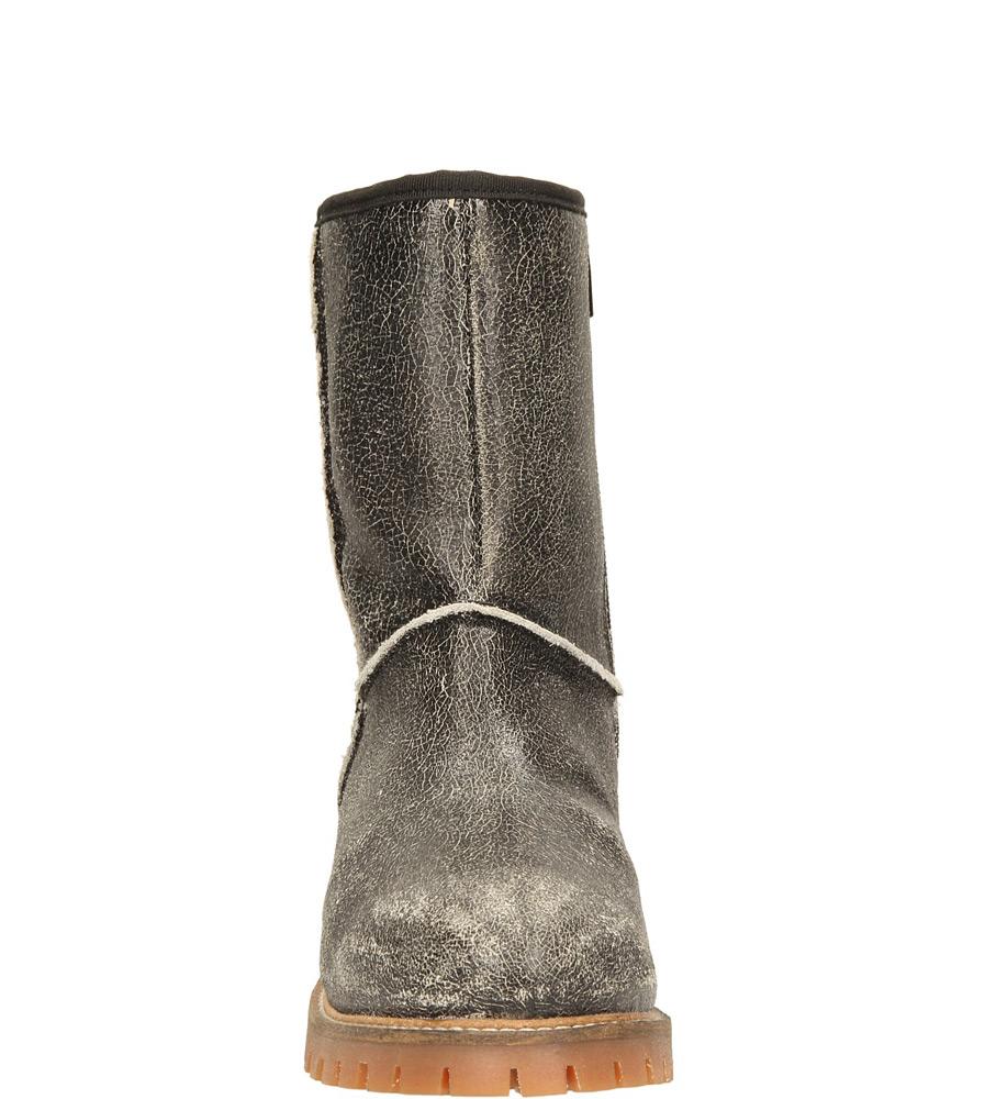 Damskie BOTKI S.OLIVER 5-26461-33 czarny;srebrny;