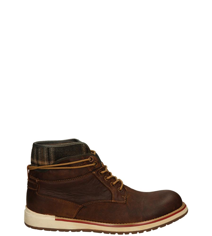 Męskie TRZEWIKI KONDOR SH3270-11 brązowy;;