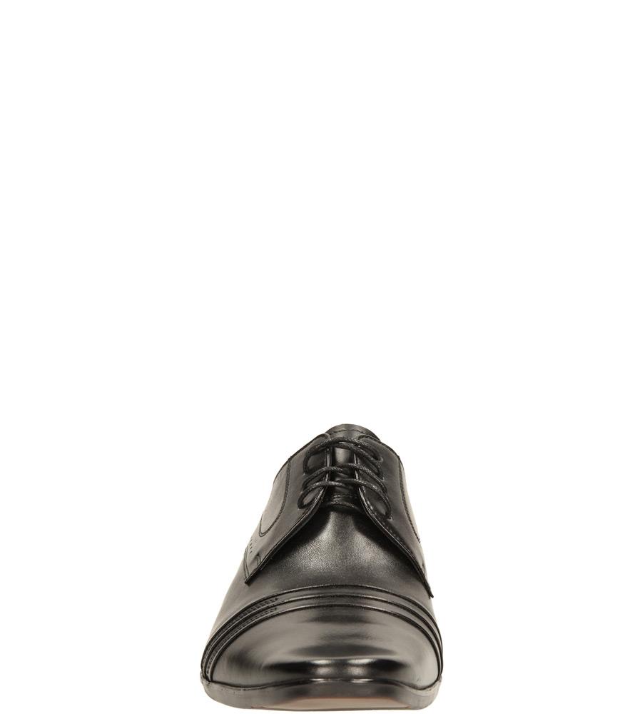 Męskie WIZYTOWE CASU P-017 czarny;;