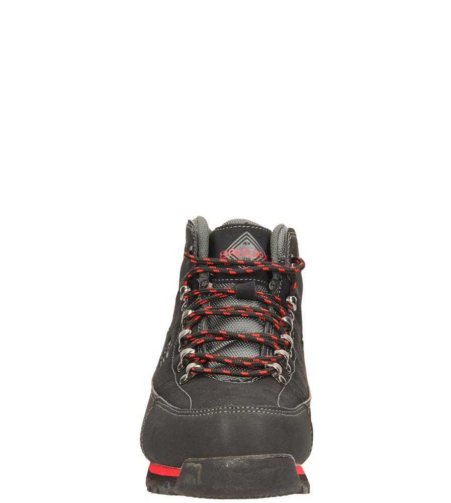 Damskie TRZEWIKI CASU LXC6771-W czarny;czerwony;