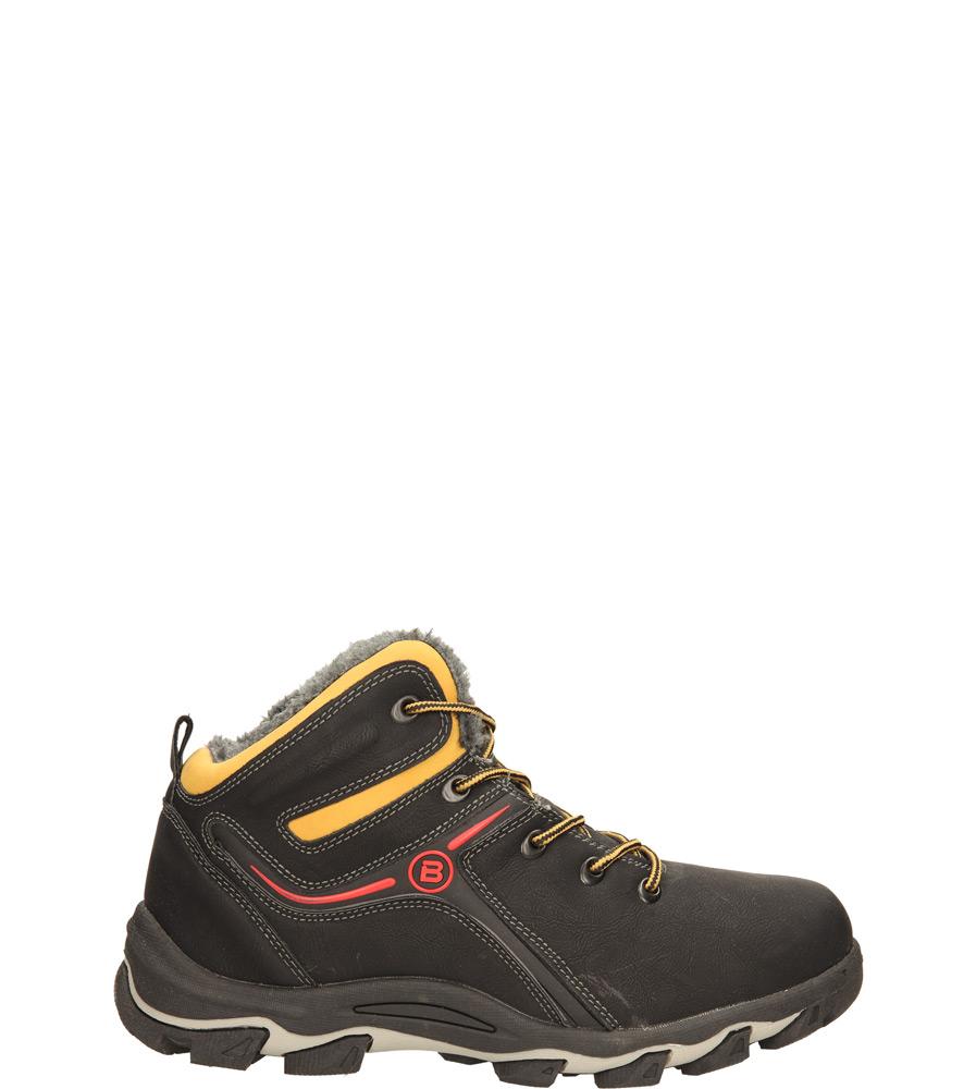 Męskie TREKKINGOWE CASU MXC6701-W czarny;czerwony;