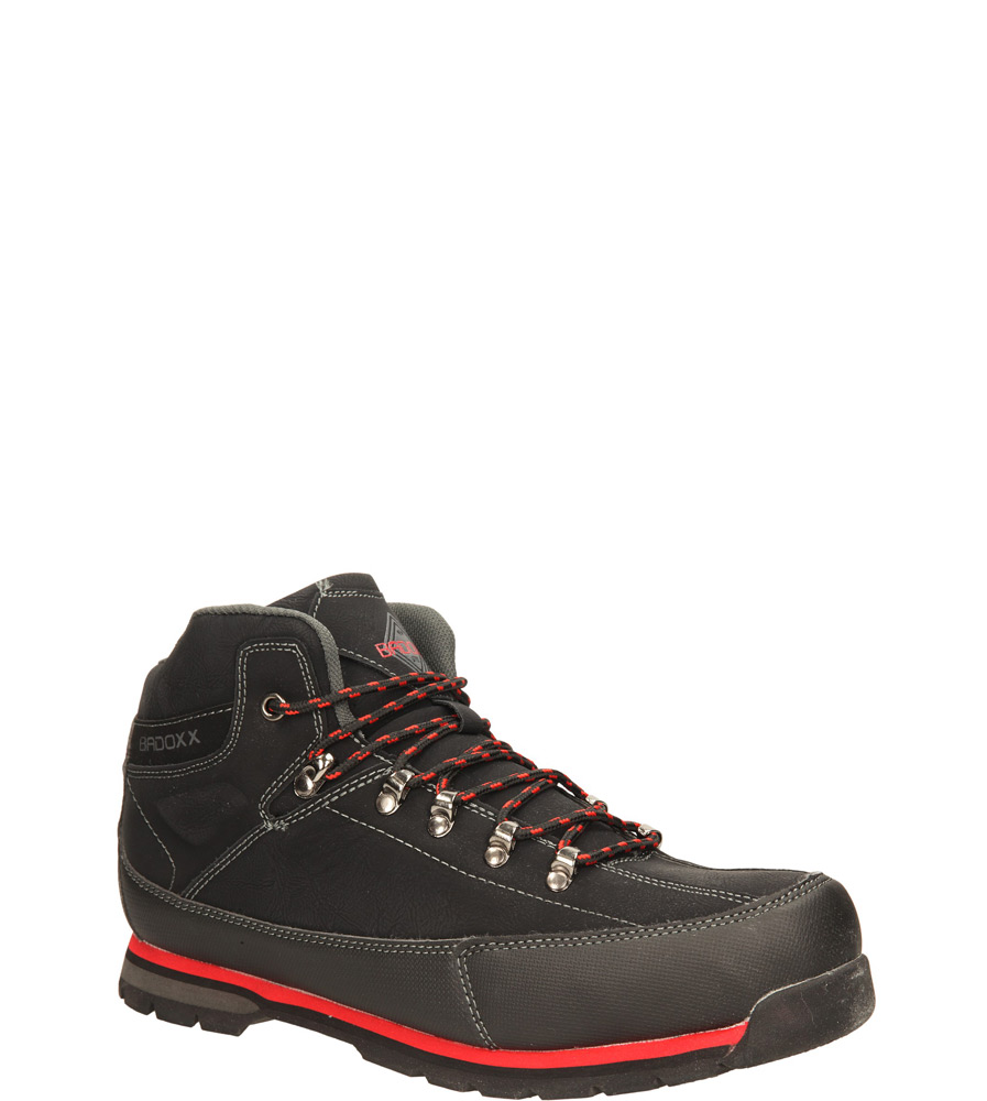 Męskie TREKKINGOWE CASU MXC6772-W czarny;czerwony;