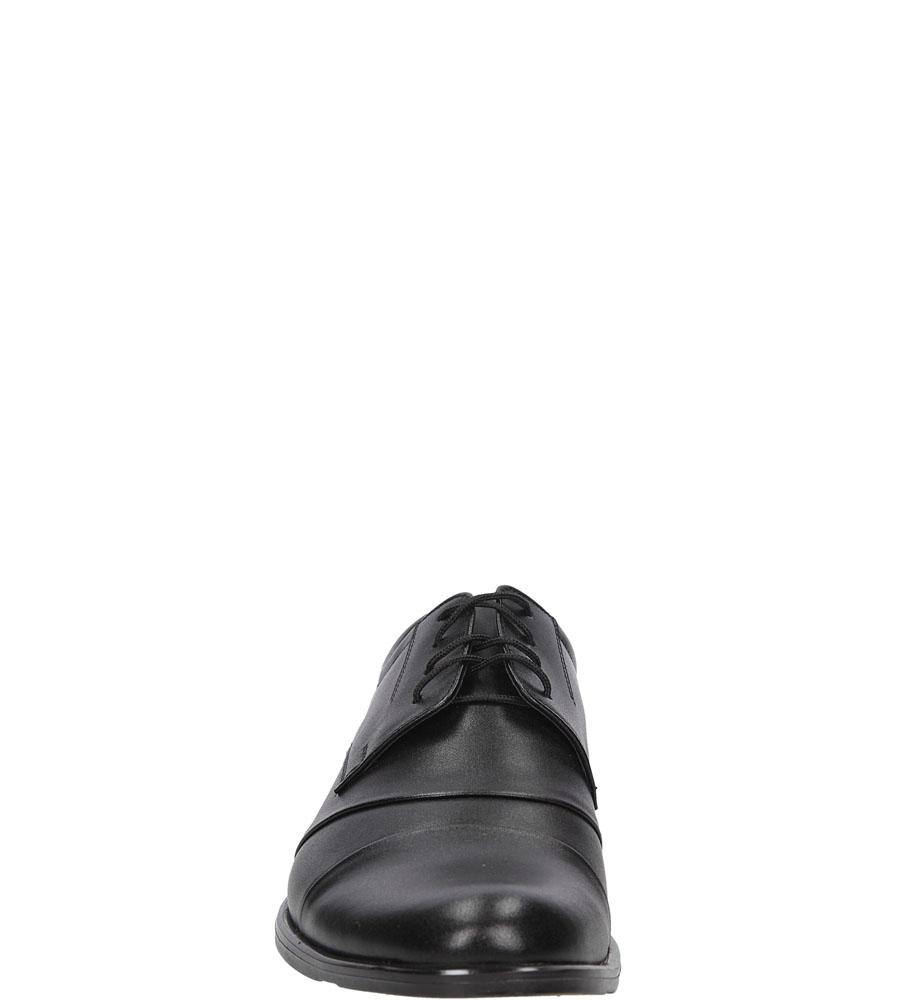Wizytowe sznurowane Windssor 230 kolor czarny