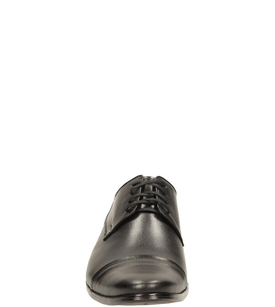Męskie WIZYTOWE CASU P-019 czarny;;