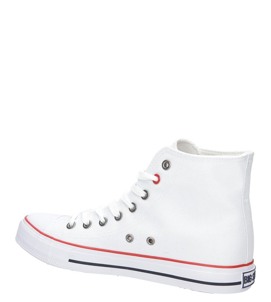 Damskie Trampki sznurowane Big Star T2740 biały;;