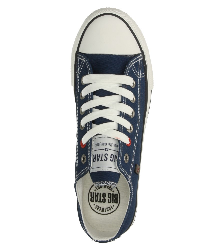 Męskie TRAMPKI BIG STAR T174101 niebieski;;