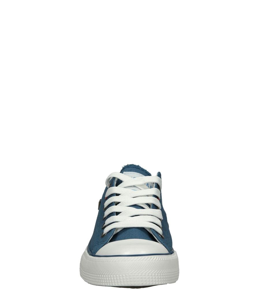 Damskie TRAMPKI BIG STAR T274030 niebieski;;